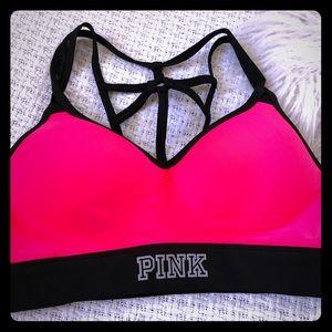 Small VS Pink Sports Bra